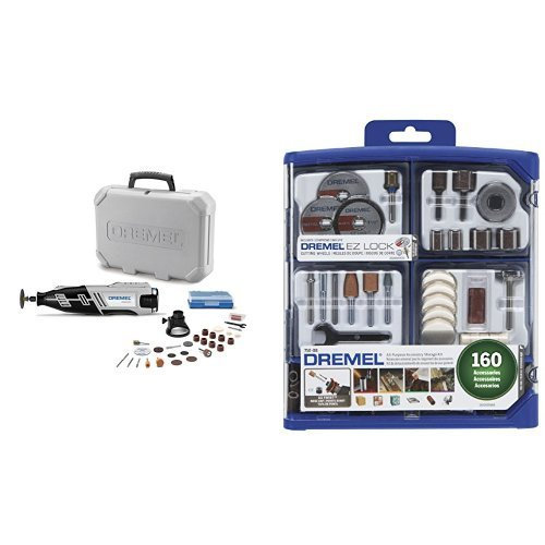 Dremel 8220-1/28 Rotary Tool with 160-Piece All-Purpose Accessory Kit (160 Piece Tool)