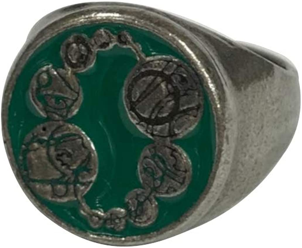 DOCTOR WHO MASTER PEWTER SIGNET RING