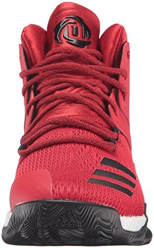 Adidas Performance Mænds D Steg 7 Basketball Sko Scarlet / Sort 1 / Hvid Xgc4F8
