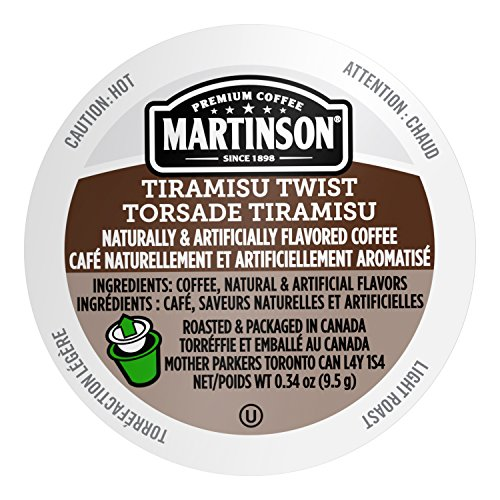Martinson Joe's Coffee, Tiramisu Twist, 24 Single Serve (Coffee Tiramisu)