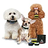 MINT | YELLOW | ROYAL Bark Collars by Our K9 – Sound & Humane Adjustable Vibration. Rechargeable Bark Collar Small Dog - Rounded Safety Prongs - New 2018 Safety protocols Model 3lb – 30lb