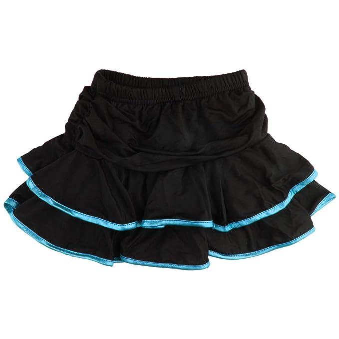 Andux Zone Falda de Danza Latina para Niña, Faldas de Práctica de ...