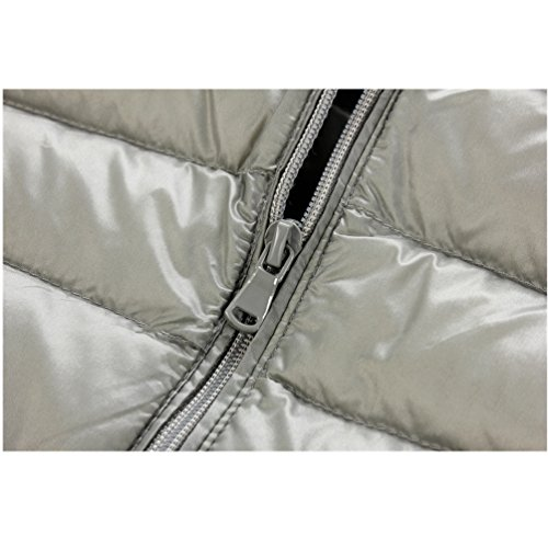 ligero cremallera 01 de la down abrigo cuello chaleco breve macho párrafo recta caliente Chaquetas mantener tH1wZqZ
