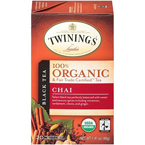 Twinings Organic Chai Count Bagged