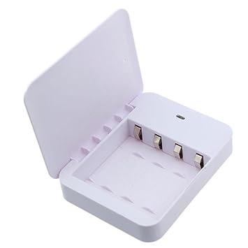 Malloom Portátil 4 x AA cargador de batería USB Power Bank ...