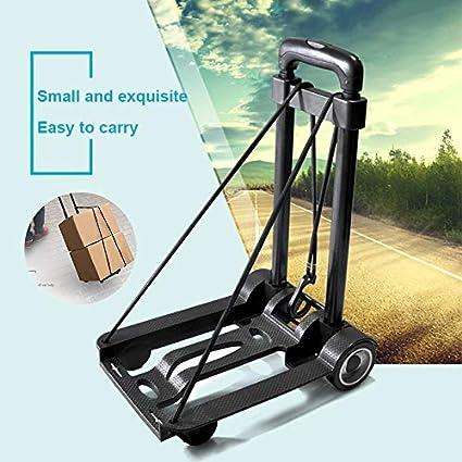 4db9553df45e Remaxm Folding Trolley, Luggage Cart, Portable Travel Trolley ...