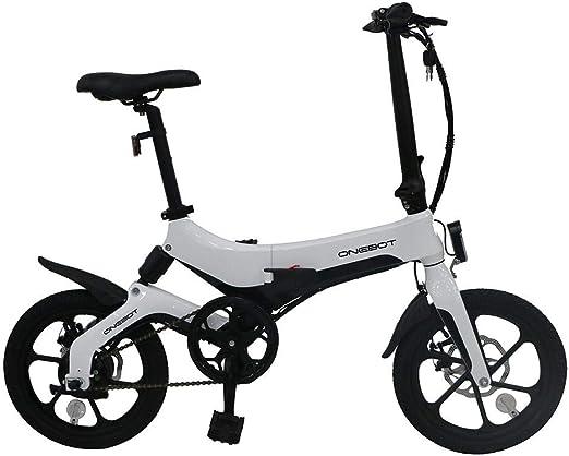 Generp Onebot S6 - Bicicleta eléctrica Plegable, 3 velocidades ...