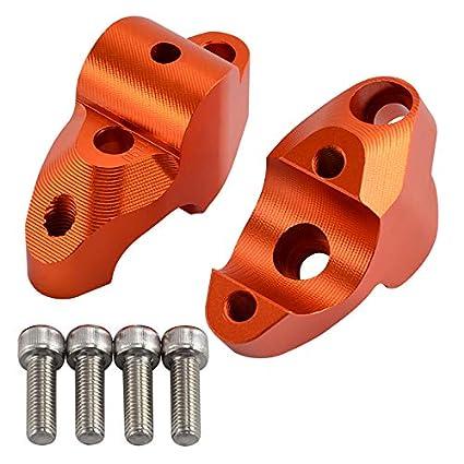 BEESCLOVER Support de Guidon pour KTM 1050 1090 1190 1290 ADV//GT 28 mm