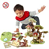 3D Jigsaw Puzzles Jungle Tree House Camp Animal Puzzle DIY Brain Train Kids Toy (40 Pieces)