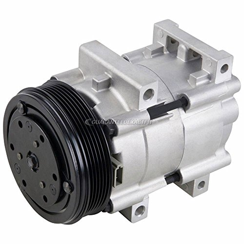 (AC Compressor & A/C Clutch For Ford Ranger Explorer Taurus F150 F250 F350 E150 Bronco Aerostar Lincoln Mercury Mazda - BuyAutoParts 60-01322NA New)