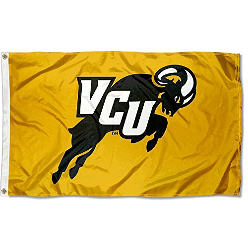 VCU Rams Jumping Ram College Flag by College Flags and Banners Co.