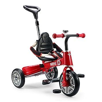 60bdfa4af09 Ricco RSZ3003 RED BMW Mini Licenced Badged Foldable Tricycle Three Wheel  Kids Pedal Trike