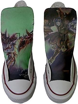 Origineel origineel, gepersonaliseerde schoenen (handgemaakt product) Demon Style