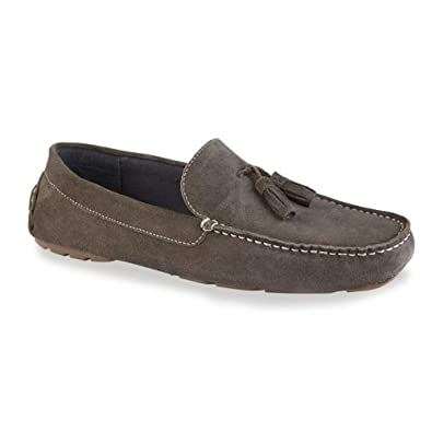 49ec8630f2f Silver Street London Stewart Mens Casual Suede Flat Loafers Slip Ons  Driving Shoe Mocassins with tassels