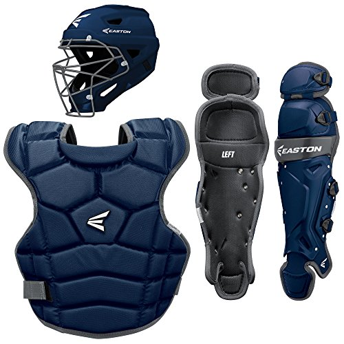 Easton Prowess Qwikfit Fast Pitch Catcher's Box Set, Navy