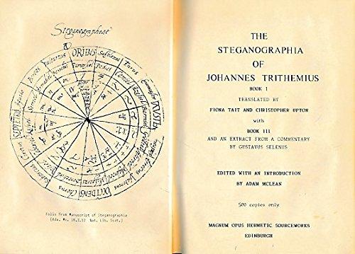 TRITHEMIUS STEGANOGRAPHIA EBOOK DOWNLOAD