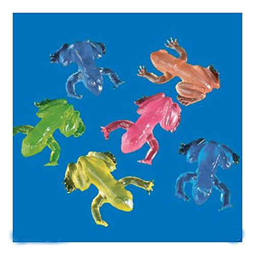 48 MINI STICKY FROGS Birthday Party Favors Prizes Pinata Filler U.S Top SelleR!