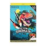 Action Dinomask: 3D Paper Dinosaur Mask
