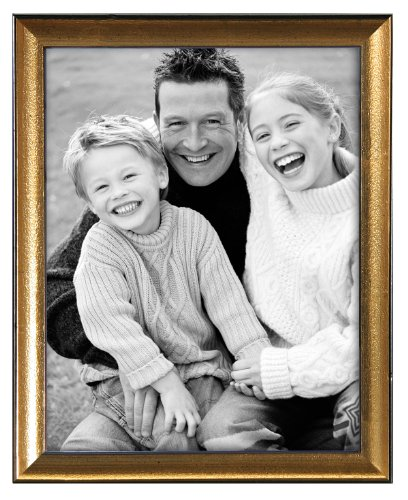 MCS 5x7 Inch Solid Wood Frame, Gold