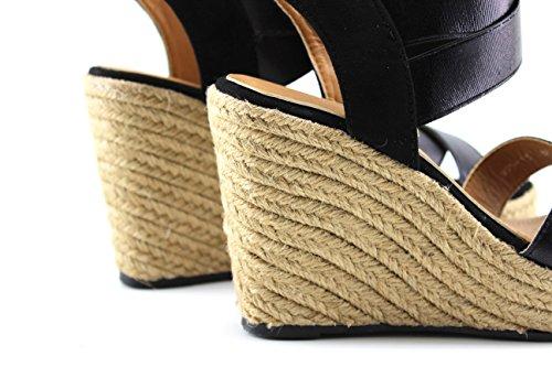 MODELISA Women's Fashion Sandals Black UrqvwX