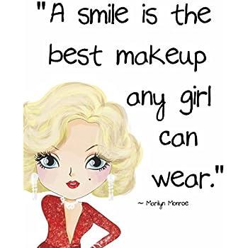 Amazon Pop Art Print Marilyn Monroe Beautyfashion Quote A