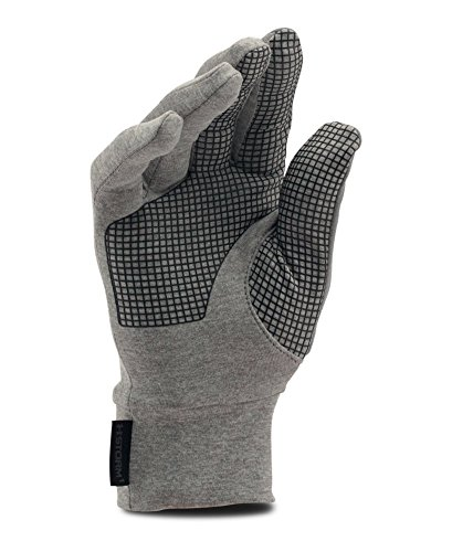 Under Armour Men's No Breaks Armour Liner Golves, True Gray Heather (025), Medium by Under Armour (Image #1)