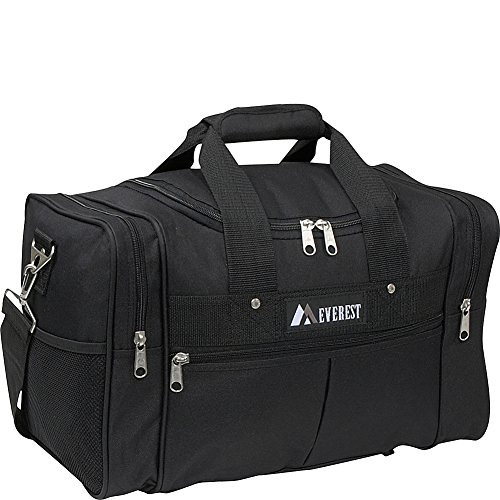 Everest Luggage Travel Gear Bag, Black, One Size