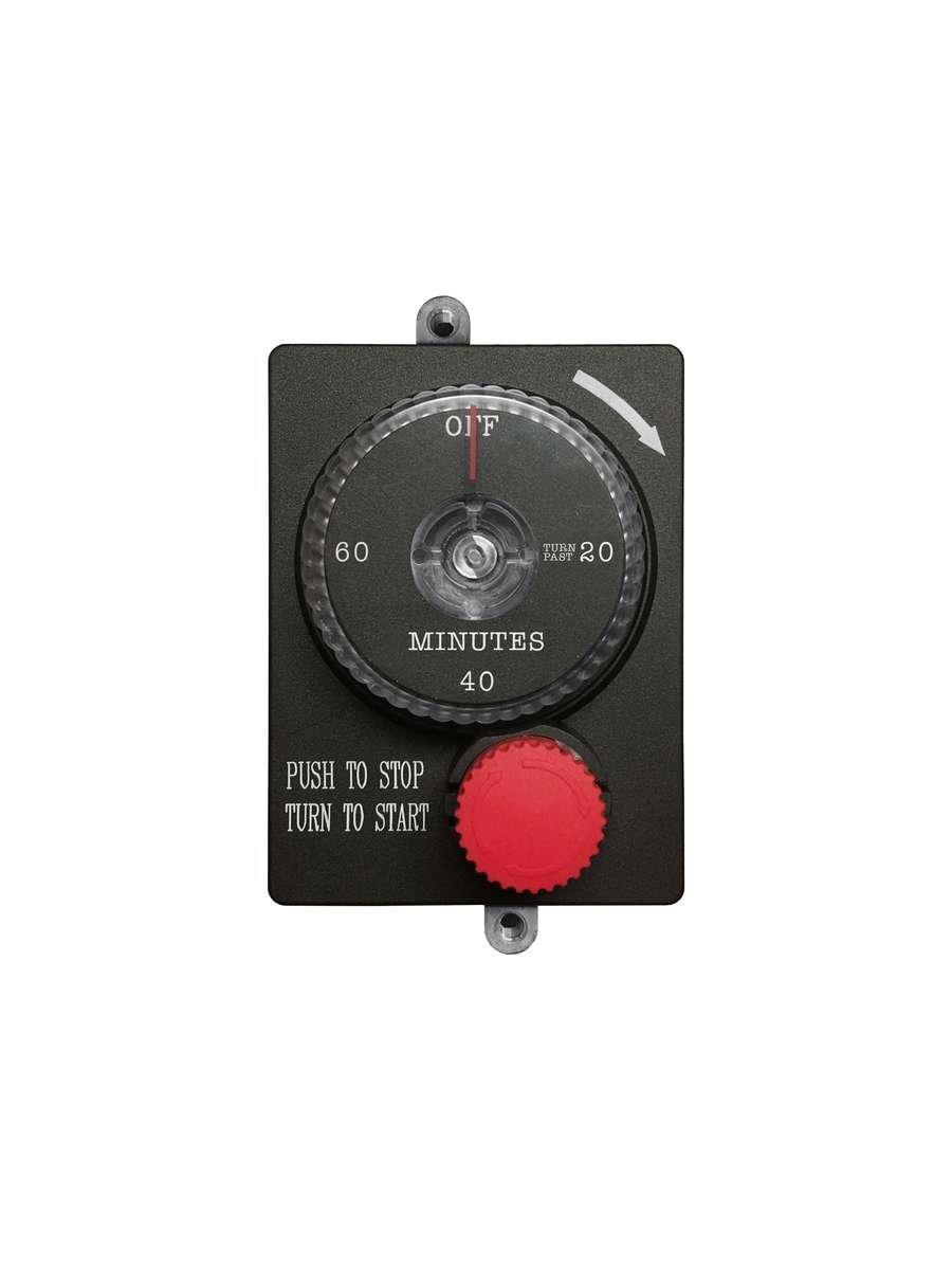 Firegear Mechanical Timer with Emergency Shut-Off (ESTOP1-0H), 1-Hour by Firegear