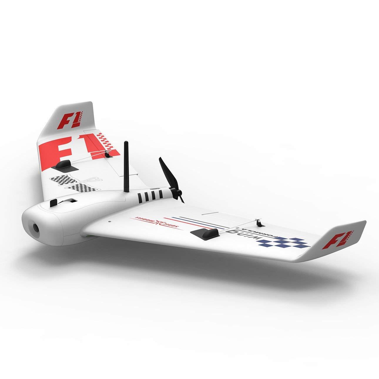 Ballylelly ZOHD SonicModell F1 833mm EPP-Wingspan RC FPV-Flugzeug mit Drohnenflugzeug mit festem Flügel und 190 km / h High-Speed-KIT-Version