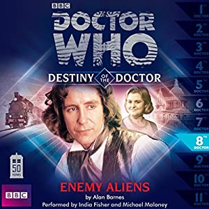 Doctor Who - Destiny of the Doctor - Enemy Aliens Audiobook
