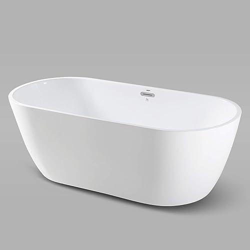 FerdY Bali 67″ Acrylic Freestanding Bathtub