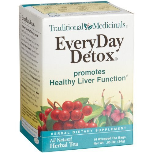 Traditional Medicinals EveryDay Detox Herbal Tea - Case of 6