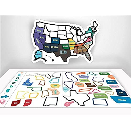 States Visited Map Amazon