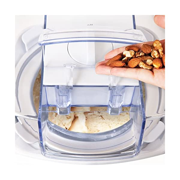 Duronic IM540 Macchina per gelati 1,5 L gelatiera ad accumulo 30 W per sorbetti Frozen yogurt gelato artigianale fatto… 7 spesavip
