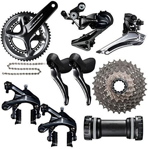 Shimano Dura Ace R9100 172.5mm 50/34 Compact Groupset 11x28 BSA ()