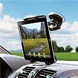 Universal 360 Degree Rotatable Windshield Car Mount Window Tablet Holder for iPad Mini 4 - iPad Mini with Retina Display - iPad Pro 9.7