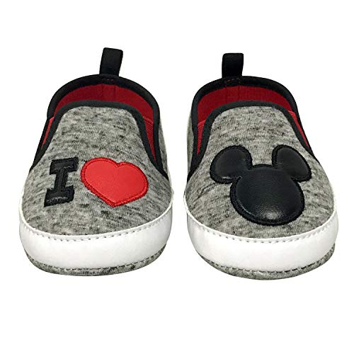 Disney Mickey Mouse Red and Black Infant Shoes - Size 6-9 Months Disney Mickey Mouse Shoe