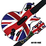 Mightyskins Protective Skin Decal Cover Sticker for GUITAR HERO 3 III PS3 Xbox 360 Les Paul - British Pride