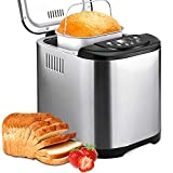 KBS Automatic 2LB Bread Maker Machine Beginner Friendly Breadmaker with Great..