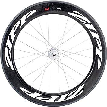 Zipp Track Tubular 24 - Rueda para Bicicletas, Color Blanco: Amazon.es: Deportes y aire libre