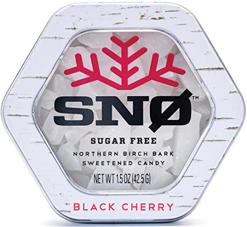 (NEW LOOK) Black Cherry Xylitol Candy Chips - SN