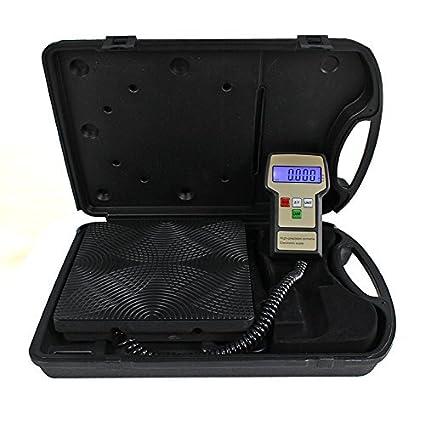 ZENY Electronic Refrigerant Charging Scale 220LB Digital HVAC A//C