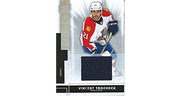 ... Premier Rookies VINCENT TROCHECK 39125 Jersey 01811 at Amazons Sports  Collectibles Florida Panthers 21 Vincent Trocheck Yellow 2017 All-Star  Atlantic ... 3a3d71530