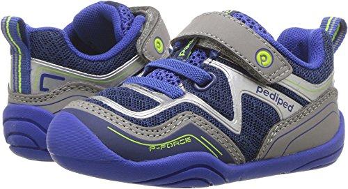 Grips Force (pediped Kids' Grip Force Sneaker,Navy,19 E EU Toddler (4-4.5 US))
