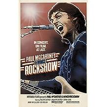 PAUL McCARTNEY + WINGS Rockshow Poster by Kozlowski