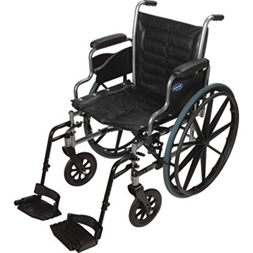 Invacare - Tracer IV - Manual Wheelchair - Desk-Length Armrest with Swing Away Footrest - 22