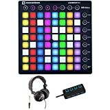 Best Launchpads - Novation Launchpad Ableton Live Grid Controller with Headphones Review