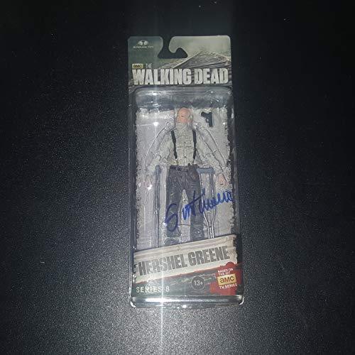 Scott Wilson - Autographed Signed HERSHEL GREENE McFarlane Toy Figure - The WALKIND DEAD - Zombie - Series 5s