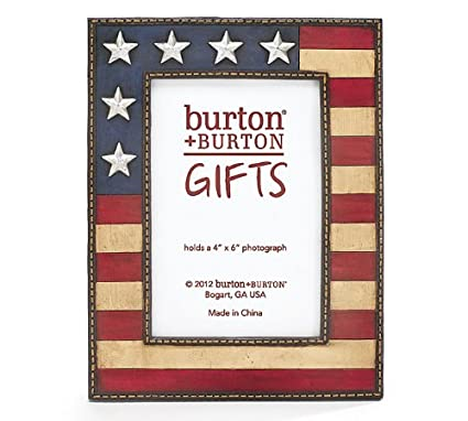 Amazoncom American Flag Picture Frame Single Frames