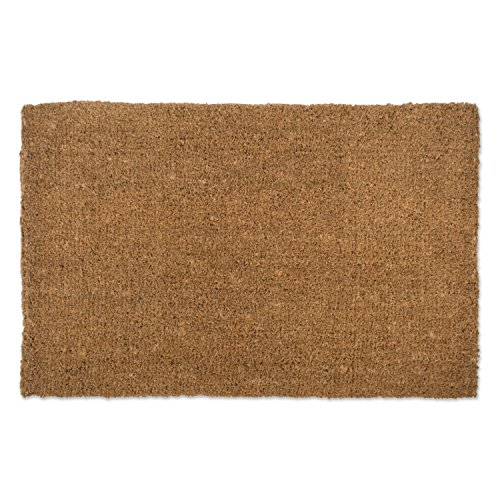 Natural Coir Coco Fiber Non-Slip Outdoor/Indoor Doormat,
